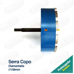 Serra Copo Diamantada 158mm...