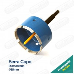 Serra Copo Diamantada 85mm...